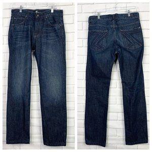 7FAM Austyn men's 30 jeans dark wash